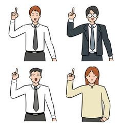 set people vector image