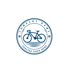 vintage retro hipster bike bicycle sport store vector image