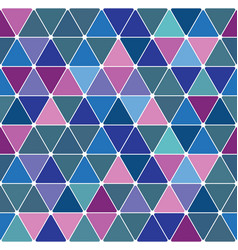 winter triangle pattern 29 vector image