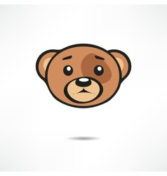 Upset bear vector image vector image