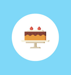 cake icon sign symbol vector image