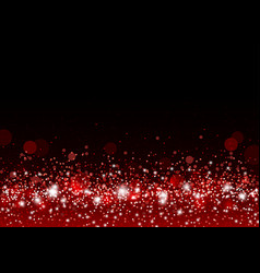 Christmas background concept design of red gitter vector