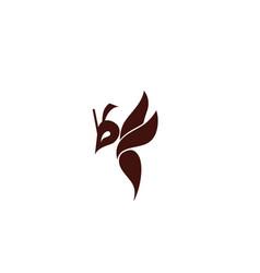 Hornet bee logo design inspiration vector
