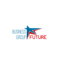 icon for business group vector image
