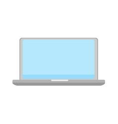 laptop icon computer symbol information vector image