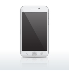 Realistic mobile phone smartphone template vector image
