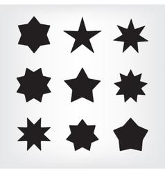 Set stars vector