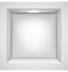 Showroom vector image