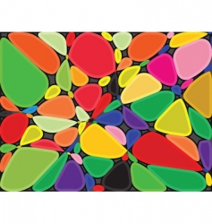 stones background vector image