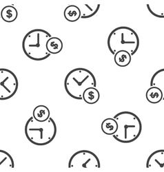 Time is money pattern vector