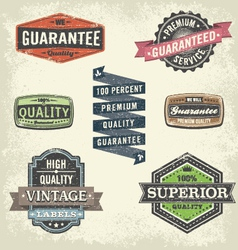 Vintage Signs and Banners and Frames vector