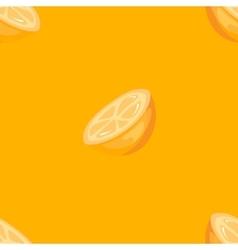 bright orange seamless pattern vector image vector image