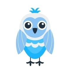 Cartoon owl isolated vector