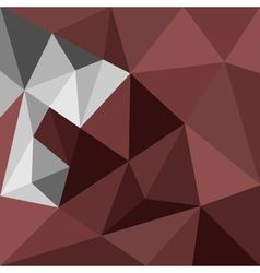 Dark brown triangle background or pattern vector image