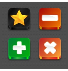 App Icons vector image