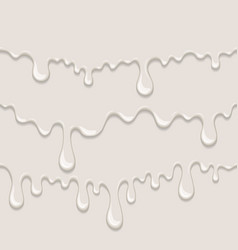 Background with flow milk vector