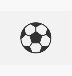 ball toy icon on white background line style vector image