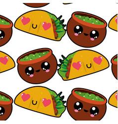 Burrito and sauce design vector