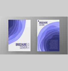 business brochure design cover design vector image