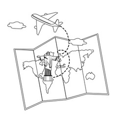 christ redemeer design vector image