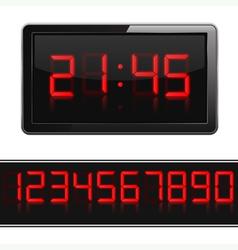 Digital Clock vector