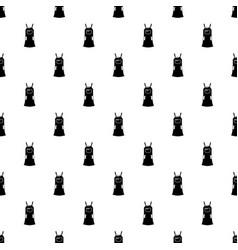 girl dress pattern seamless vector image