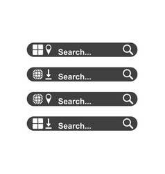 Set the searchable panels of your choice a vector