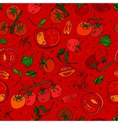 Tomato Pattern 01 A vector image