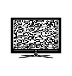 Tv simple icon vector image