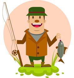fishman vector image
