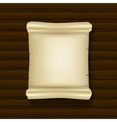 blank ancient scrolls vector image