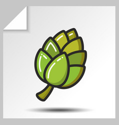 beer icons 9 vector image