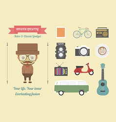 67hipsterlife vector image