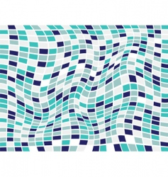 abstract checkered background vector image