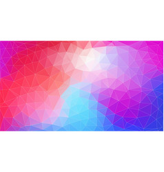 flat triangle multicolor geometric wallpaper for vector image