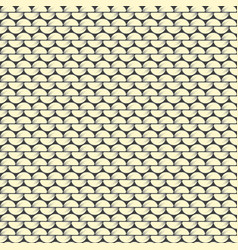 knitting reverse stockinette stitch textural vector image