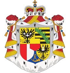 Liechtenshtein coat-of-arms vector