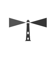 lighthouse graphic design template isolated vector image