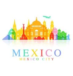 Mexico Travel vector image vector image