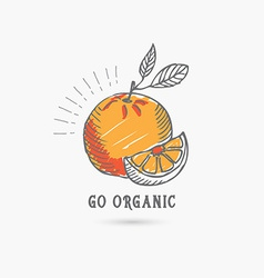 Logo healthy lifestyle Design icon vector image vector image