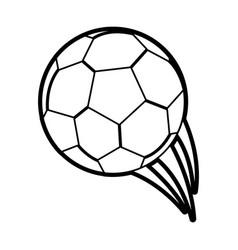 Soccer ball icon image vector