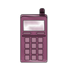cellphone communication device vector image