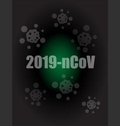 Covid-19 coronavirus 2019-ncov pandemic vector