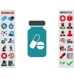 Drugs Phial Icon vector image
