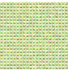 Green mosaic seamless pattern vector