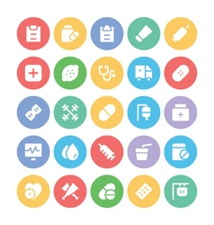 Health Icons 6 vector image