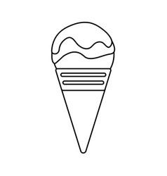 ice cream design vector image