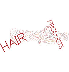 Learn about the latest trends in hair care vector