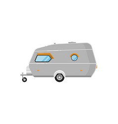 mobile home isolated on white icon vector image