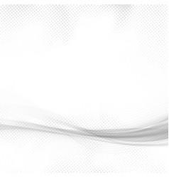 modern abstract high-tech futuristic swoosh line vector image